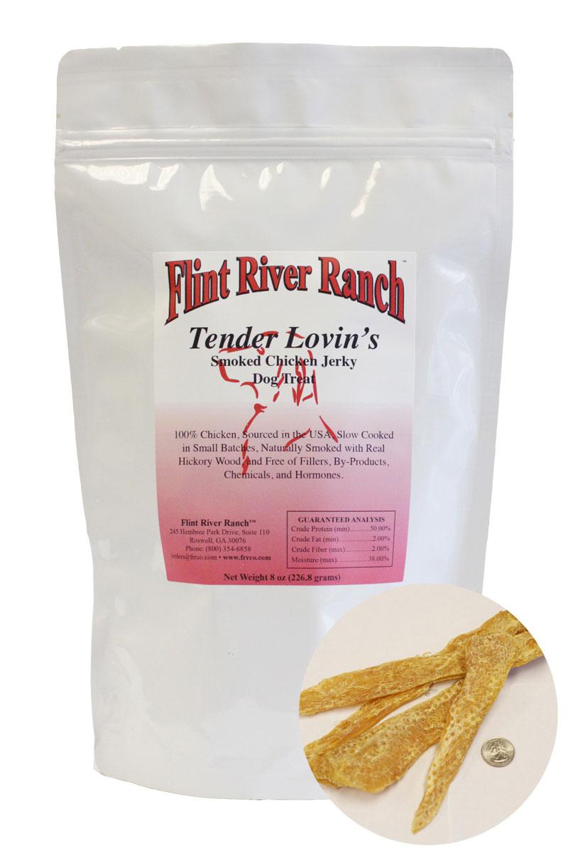 Tender Lovins Smoked Chicken Jerky Treats